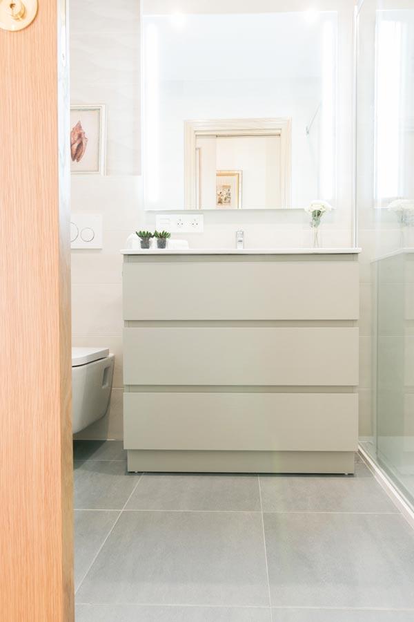 Reforma baño Villava
